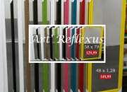 espelhos com molduras e moveis retro promoção art reflexus vlmariana