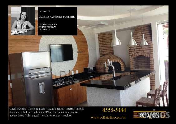 Churrasqueira é um item essencial p todos e transformam as varandas de apartamentos em varandas gourmet. a bella telha 11-4555-5444 oferece todos os modelos de churrasqueiras, churrasqueira de alvenaria, churrasqueira de tijolinho, churrasqueira com coifa,