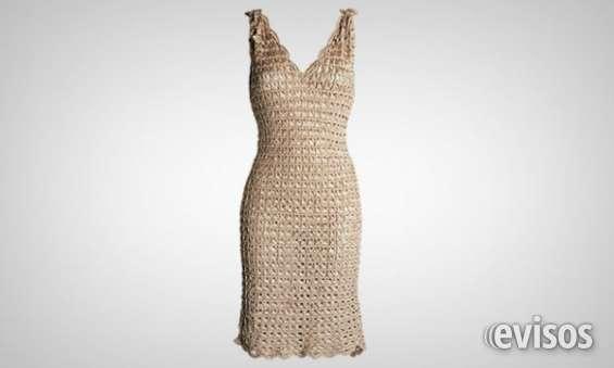 Lindo vestido de crochê branco e prata/ sem uso