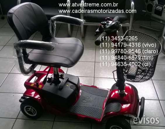 Quadriciclo scooter mobility bronze - cadeira de rodas elétrica apenas 6200,00