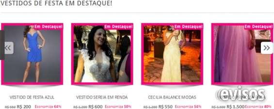 Vender vestido de noiva ou festa. #1 em brasil