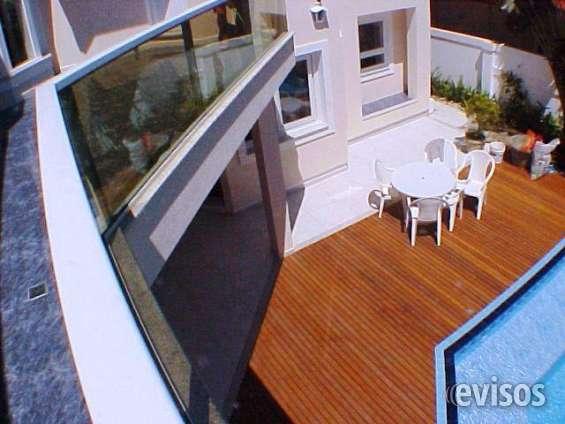 Casa jurerê internacional mobiliada 4 suítes piscina 5 vagas