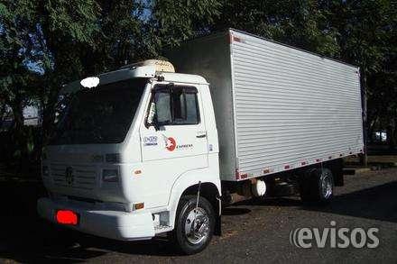 Caminhão 8150 bau, entrada + prest .
