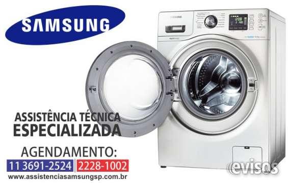 Assistência samsung: lavadora de roupas