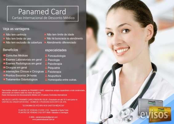 Panamed card- cartão de desconto médico