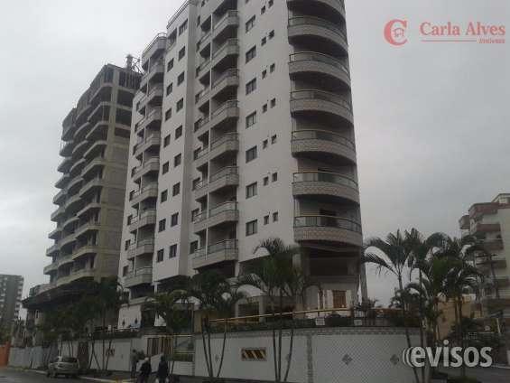 Apartamento na cobertura, lazer completo na vila caiçara, praia grande -ap0072