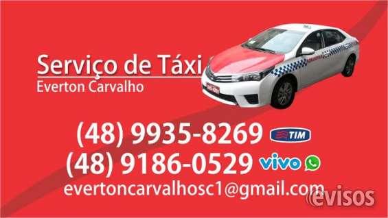 Taxi no centro aeroporto florianopolis
