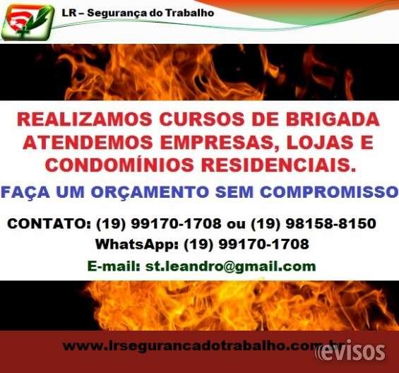 Brigada de incêndio campinas sp.