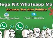 Listas Emails Whatsapp Marketing