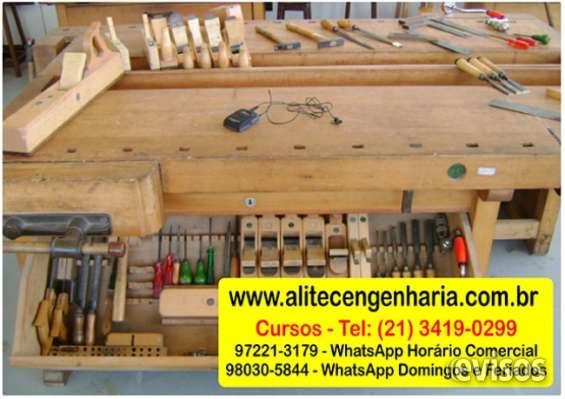 Curso de marceneiro, manual do marceneiro, aula de marcenaria
