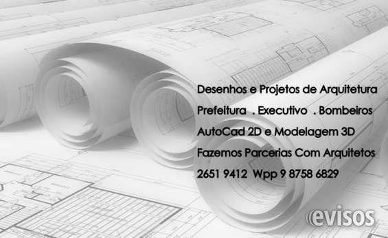 Projetos e desenhos autocad - arquitetos e cadistas