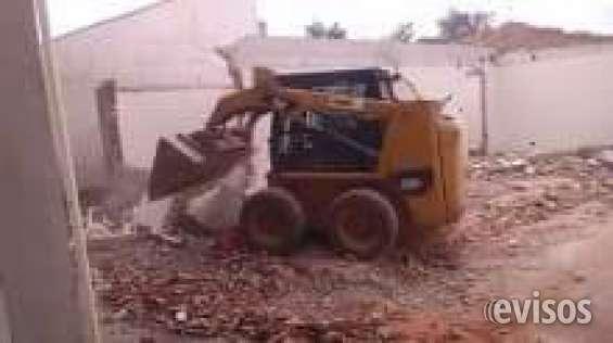 Demolidora de casas e barracão