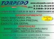 F 3433-9597 DESENTUPIDORA EM BH DEDETIZADORA EM BH LIMPEZA DE CAIXAS D AGUA EM BH GORDURA