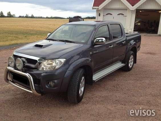 Toyota hilux 3.0 sr año: 2010 precio:$5000