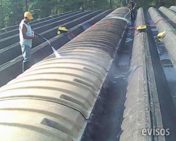 Lavagens de telhados industriais