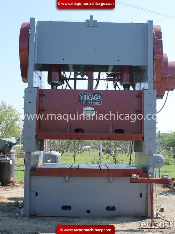 Troqueladora chicago 300 ton usada