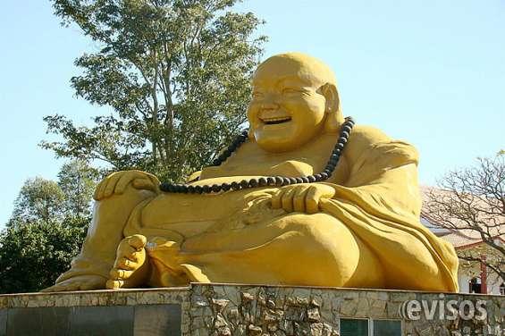 Buda da felicidade -templo budista .