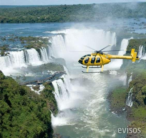 Voo de helicóptero nas cataratas do iguaçu.