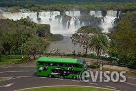 Ônibus do parque nacional do iguaçu .