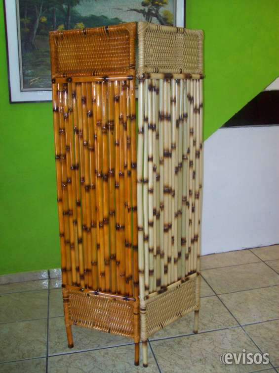 Divisórias de bambu feitas de cana da índia