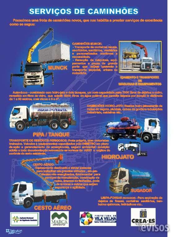 Caminhão munck para locação - visauto - es 27 3260 1814