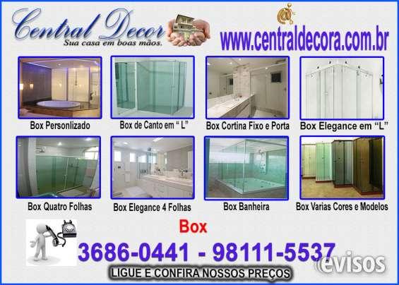 Box banheiro blindex.