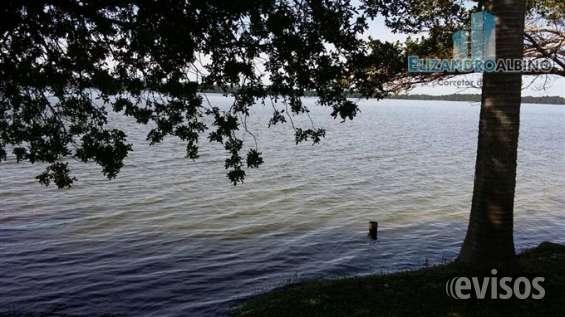 Fotos de Linda chacara na lagoa com casa em alvenaria 2