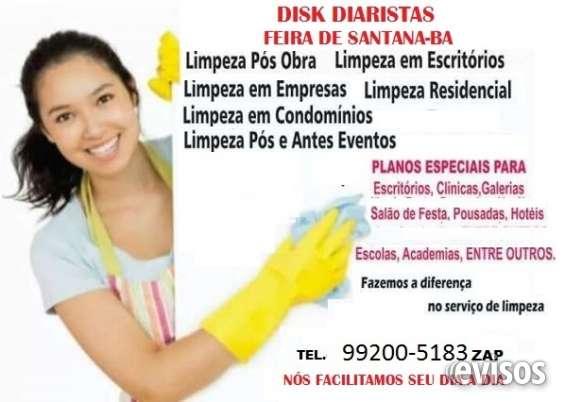 Disk diarista - serviços profissionais