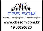 Locação Telão projetor Sumaré 19 30295723