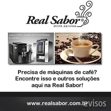Real sabor drink service - aluguel de máquina de café, especializada em aluguel, comodato