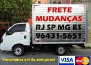 FRETES & MUDANÇAS EM 3X SEM JUROS!!!