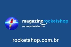 Loja virtual, rocket shop, comprar celuar online, comprar geladeira online, comprar notebook online, loja virtual segura, magazine luiza promoções, melhor loja magazine você