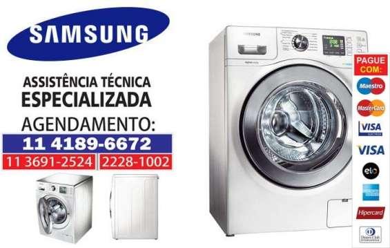 Assistência samsung: secadora de roupas
