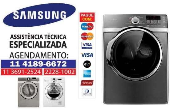 Assistência técnica para samsung: secadora de roupas