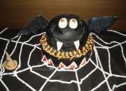 arvore halloween decoração bolo doce maça do amor mesa de guloseimas cupcake pirulito.