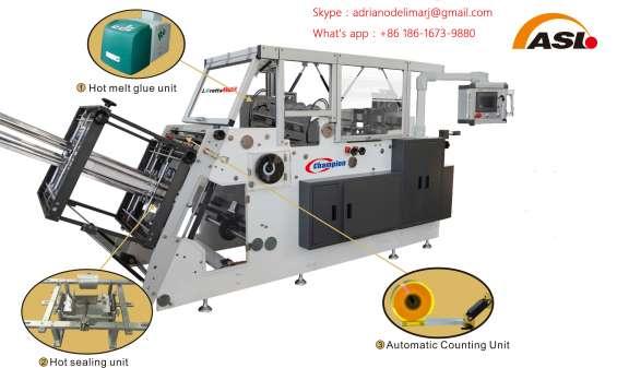Cem600 carton automático – embalagens para alimentos prontos para consumo