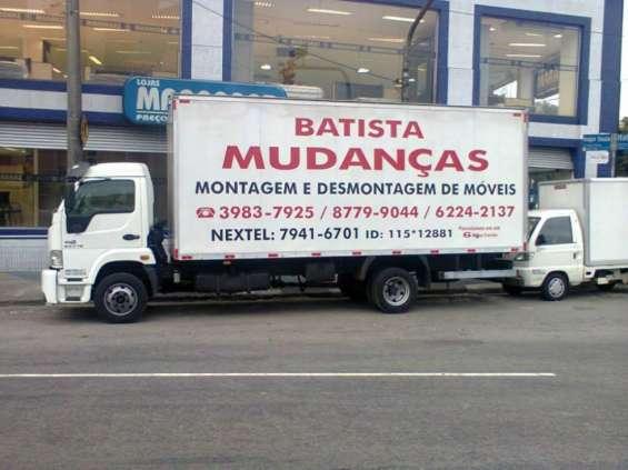 Batista mudanças residenciais e comerciais