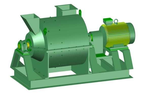 Fotos de Molino pulverizador. planos completo de las piezas y montaje. 1
