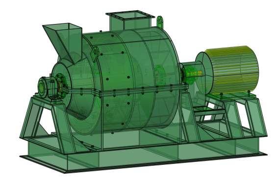 Fotos de Molino pulverizador. planos completo de las piezas y montaje. 4