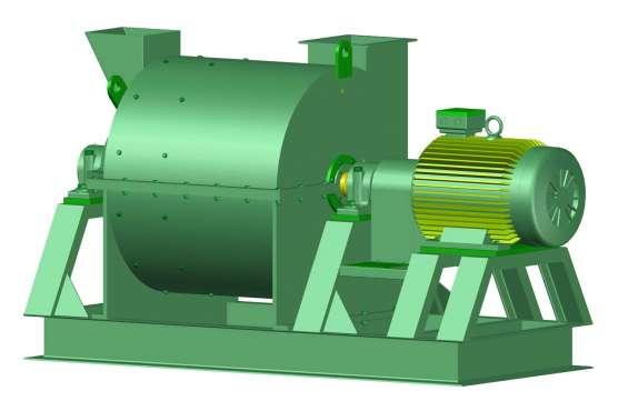 Fotos de Molino pulverizador. planos completo de las piezas y montaje. 2
