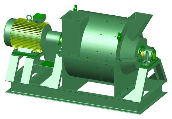 Fotos de Molino pulverizador. planos completo de las piezas y montaje. 5