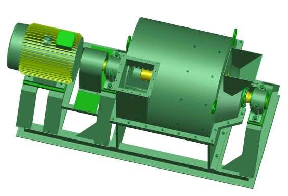 Fotos de Molino pulverizador. planos completo de las piezas y montaje. 3