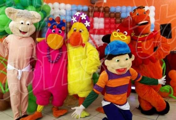 Cocoricó - show cover personagens