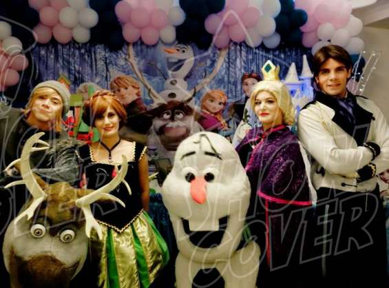 Frozen - show cover personagens