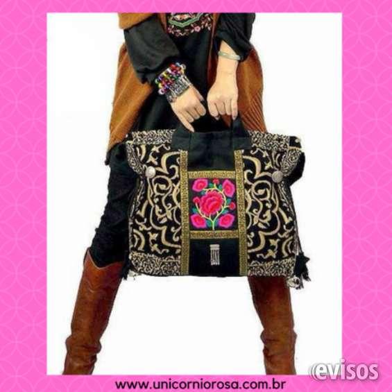 Unicórnio rosa - especializada em bolsas e acessórios para bolsas!