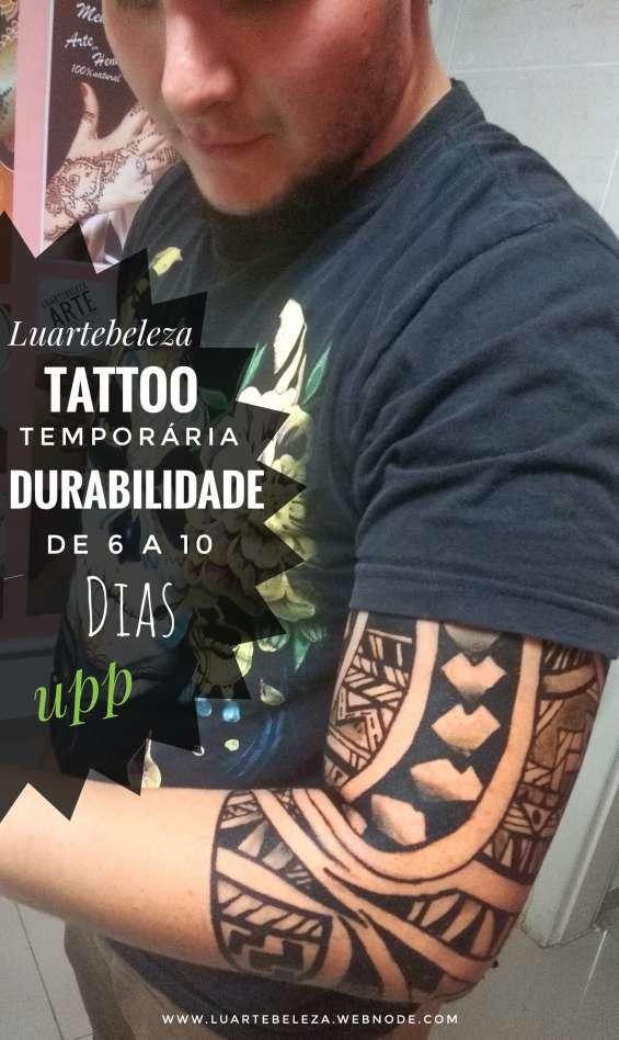 Tatuagem  de henna luartebeleza