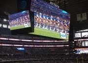 Painel de LED para estádio de futebol e esportivos