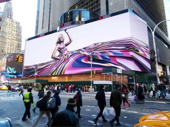 Publicidade em painéis de leds outdoor,painéis eletrônicos de leds full color