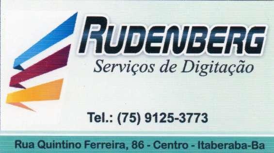 Rudenberg - serviços de digitação