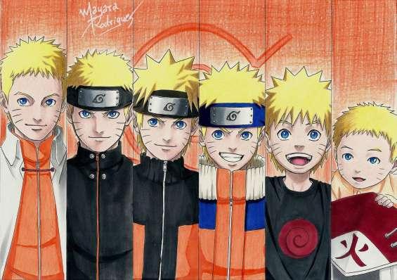Naruto evolução